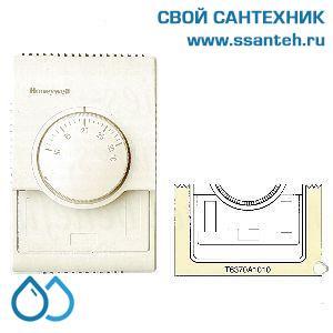 15738 HONEYWELL T6370A1010 Термостат для вентиляции 10-30С, 230В, антисипатор, нагрев или охлаждение