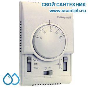 15746 HONEYWELL T6373A1017 Термостат для фэн-койлов 3-х ск., 10-30С, 230В, антисипатор, нагрев/охлаждение