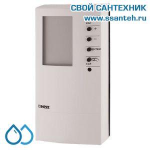 16329 HERZ 1779324 Электронный регулятор комнатной температуры (хронотермостат), 24В, 8-38C, PI-регулирование, реле+3-pt