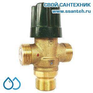 16799 HERZ 2776651 Клапан трехходовой термостатический для горячей воды, DN20, +40...+70°С, 4-40 л/мин