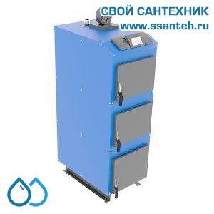 17471 ГЕЙЗЕР Экстра Котел твердотопливный с электронной автоматикой поддержания горения 22 кВт