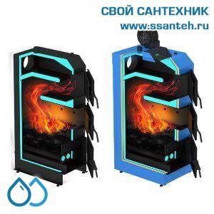 17472 ГЕЙЗЕР Экстра Котел твердотопливный с электронной автоматикой поддержания горения 32 кВт