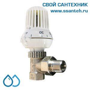 18577 TERMICUS T6102EUB15 RTL Клапан двухходовой для теплого пола угловой, 1/2, +20...+50°С, Kvs 1,90 м3/час
