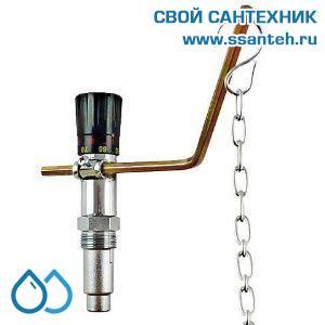 18707 REGULUS RT4 Регулятор тяги механический для твердотопливных котлов