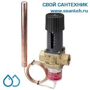 18789 DANFOSS 003N4252 AVTB Регулятор температуры прямого действия, DN25, +20...+60°С,  Kvs 5,5 м3/час, с выносным термобаллоном