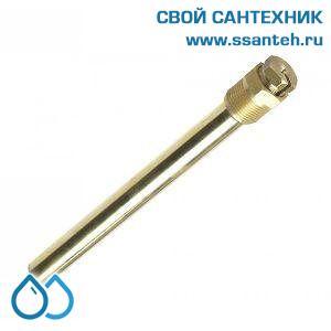 """18794 DANFOSS 003N0192 Гильза для датчика 18 х 210 мм, нержавеющая сталь, 3/4"""""""