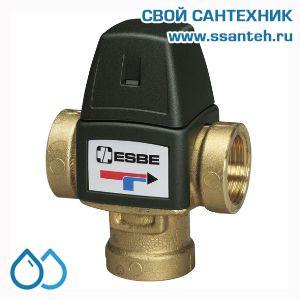 18798 ESBE 31100800 Клапан трехходовой термостатический смесительный, DN20, +35...+60°C,  Kvs 1,6 м3/час