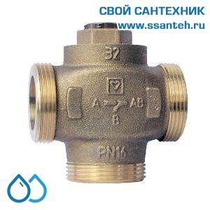 18924 Клапан смесительный для повышения температуры обратки DN32, байпас не отключаемый