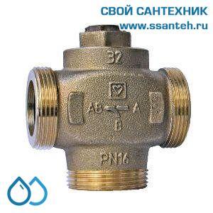 18925 Клапан смесительный для повышения температуры обратки DN32, байпас отключаемый