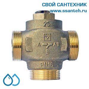 18926 Клапан смесительный для повышения температуры обратки DN25, байпас  не отключаемый
