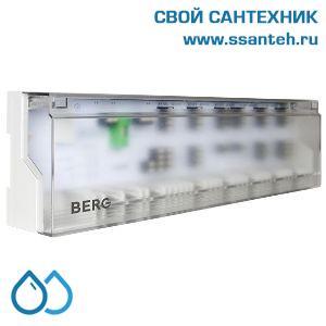 20499 BERG BC106S Центр коммутации термостатов и приводов с управлением котлом (насосом), 6 зон, 230В, 2А