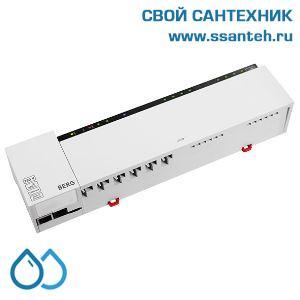 20502 BERG BC108-iRF  Центр коммутации термостатов и приводов с управлением котлом (насосом), беспроводной, 8 зон, 230В, 2А, с интернет шлюзом