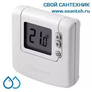 07028 Honeywell DT90A1008 Комнатный электронный термостат, 5-35С, SPDT, 230В, 8(3)А, размытая логика